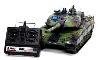 радиоуправляемый танк WOT в подарок мужчине