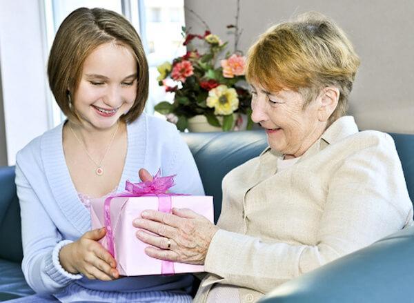 Презент бабушке от внучки