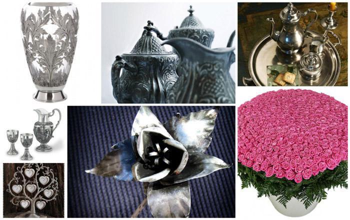 Идеи подарков друзьям на оловянную свадьбу
