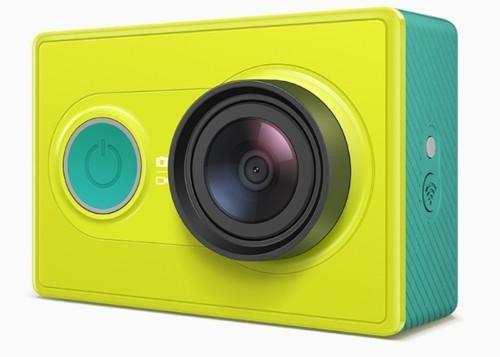 видеокамера желтая