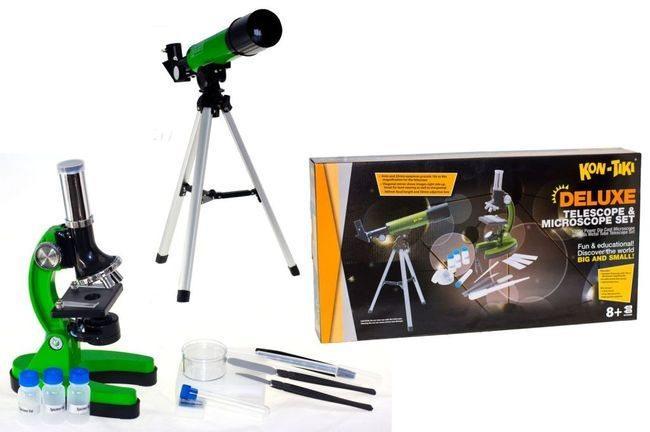 Детский набор для научных исследований и опытов